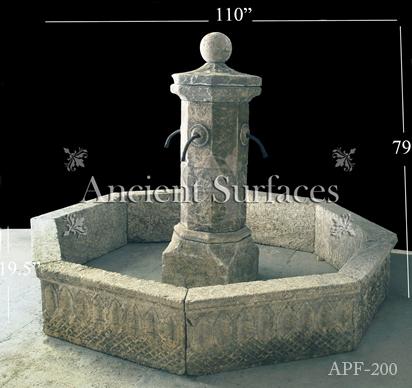 Examples Of Our Ancient Pool Fountains By Ancient Surfaces