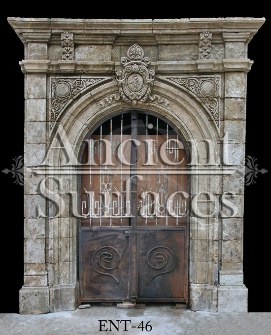 This is our very rare collection of ancient stone entryways.