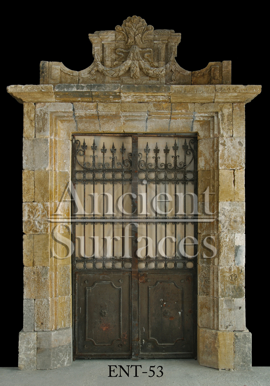Antique entryways from the Medieval Euopean eras to the early 1900's