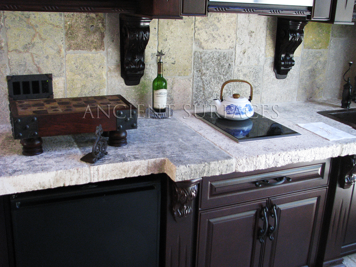 Our One Of A Kind Ancient Foundation Stone Counters That Were Mill Down In Thickness