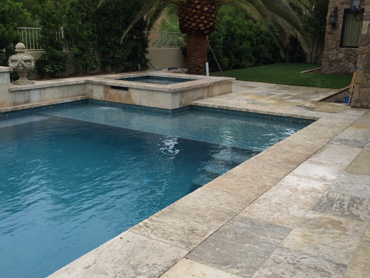 Antique Stone Pool Coping By Ancient Surfaces Page 1