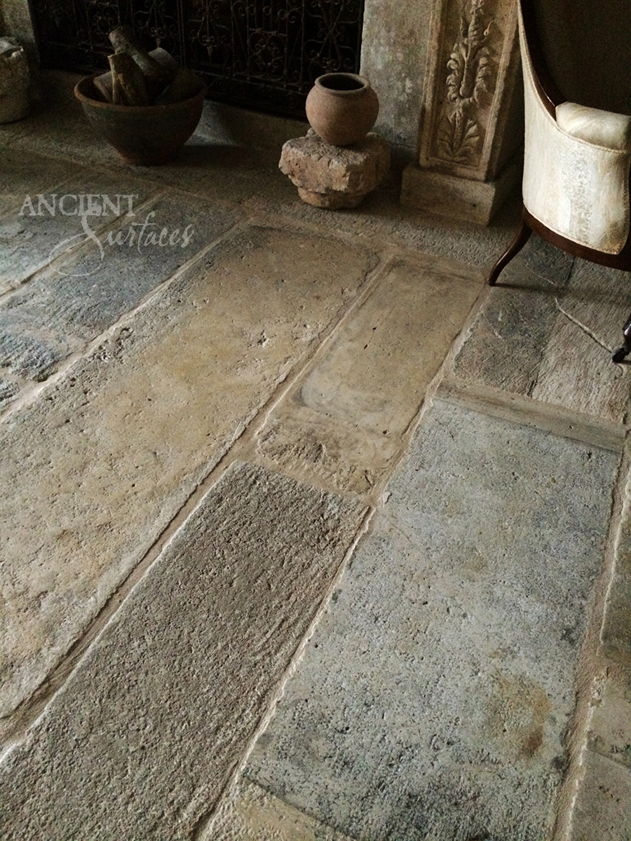 Stone Tile Flooring : Our antique salvaged biblical stone flooring pavers by