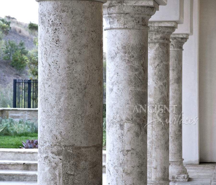 Antique Stone Columns By Ancient Surfaces