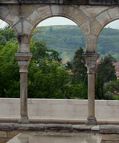 Antique Stone Columns By Ancient Surfaces