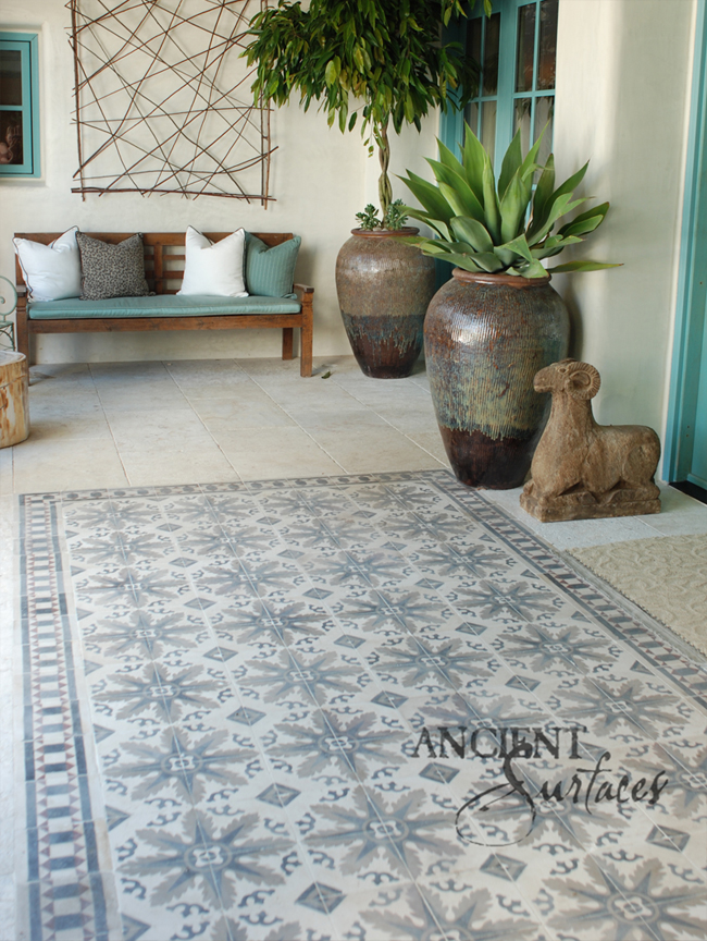 This Is Our Rare Collection Of Ancient Encaustic Cement Tiles By Ancient Surfaces
