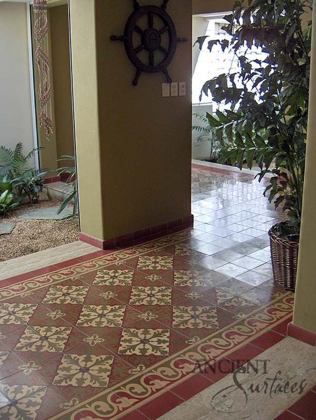 Ancient Encaustic Tiles