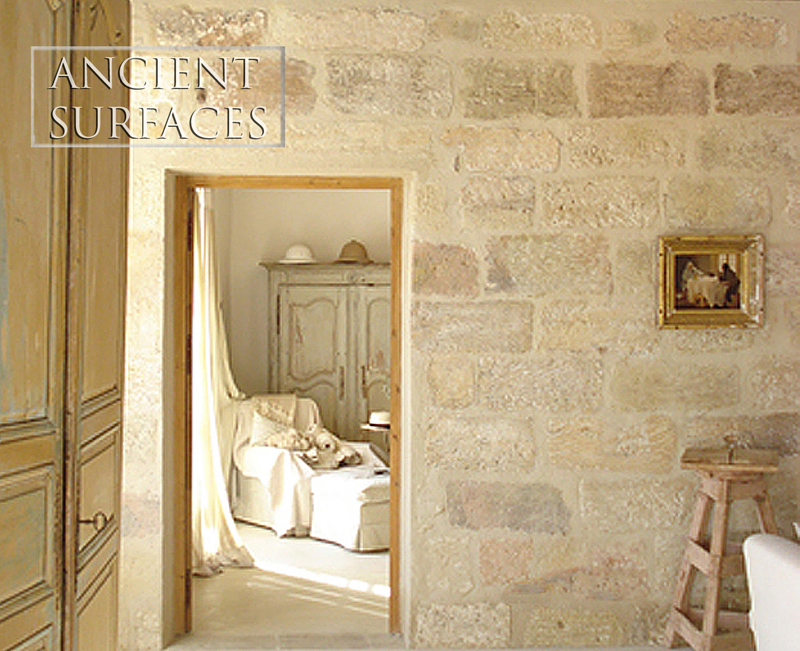 Antique Flat Wall Stone Cladding Collection by Ancient Surfaces