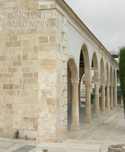 kronos limestone cladding on the outside walls of an Italian style villa