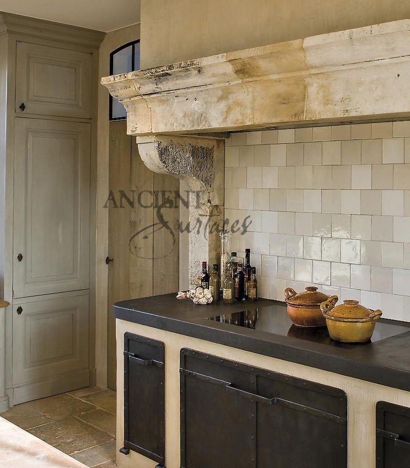 Stone Range Hoods ~ Kitchen stone range hoods by ancient surfaces