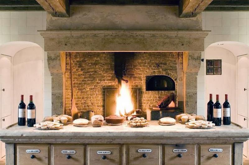 Flat Fireplace Hearth Ideas