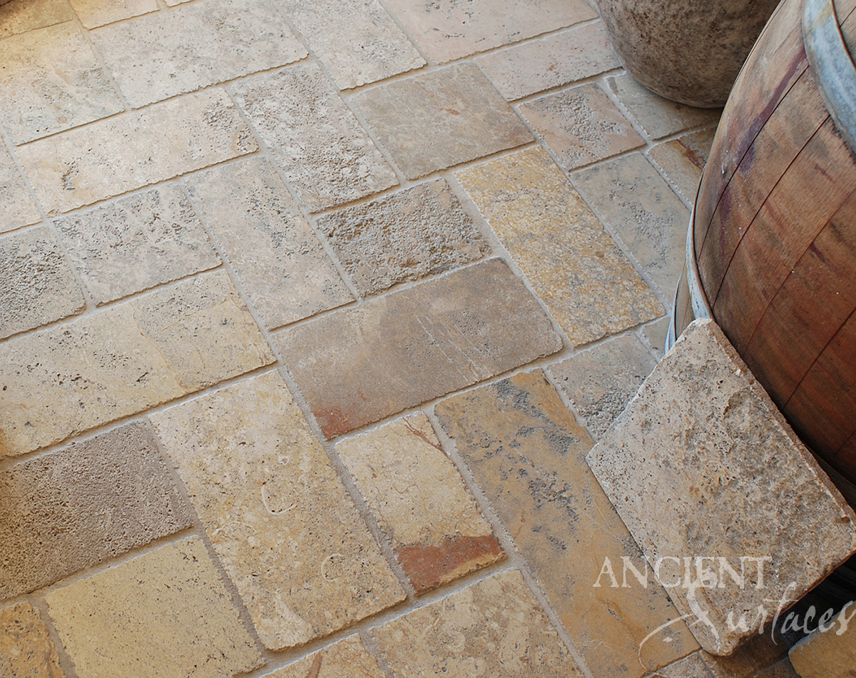 Antique Limestone Floors By Ancient Surfaces Page 1
