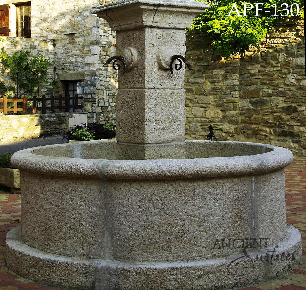 Pool Tile Water Fountain : Some lovely examples of our antique limestone pool