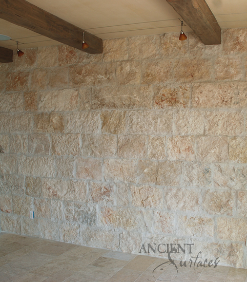 Antique Rough Limestone Wall Cladding