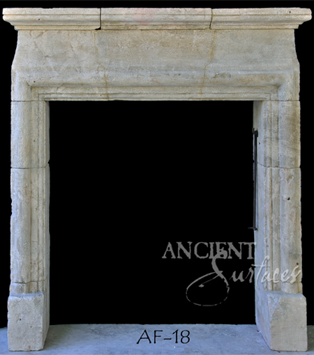 A Unique Collection of Antique Stone Fireplace Mantles by Ancient ...