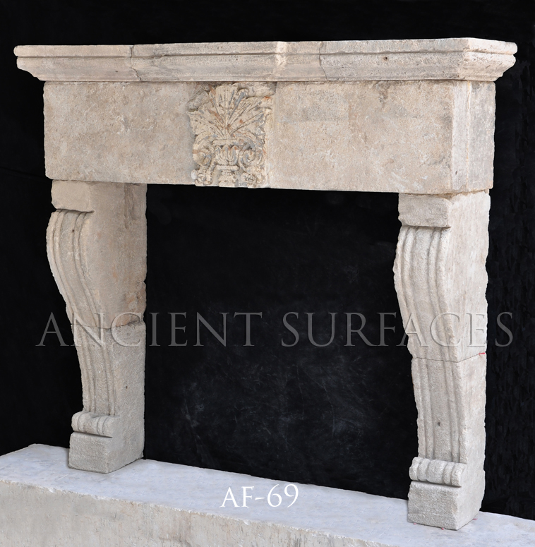 Page 3 Of Our Unique Collection Of Antique Stone Fireplace Mantles By Ancient