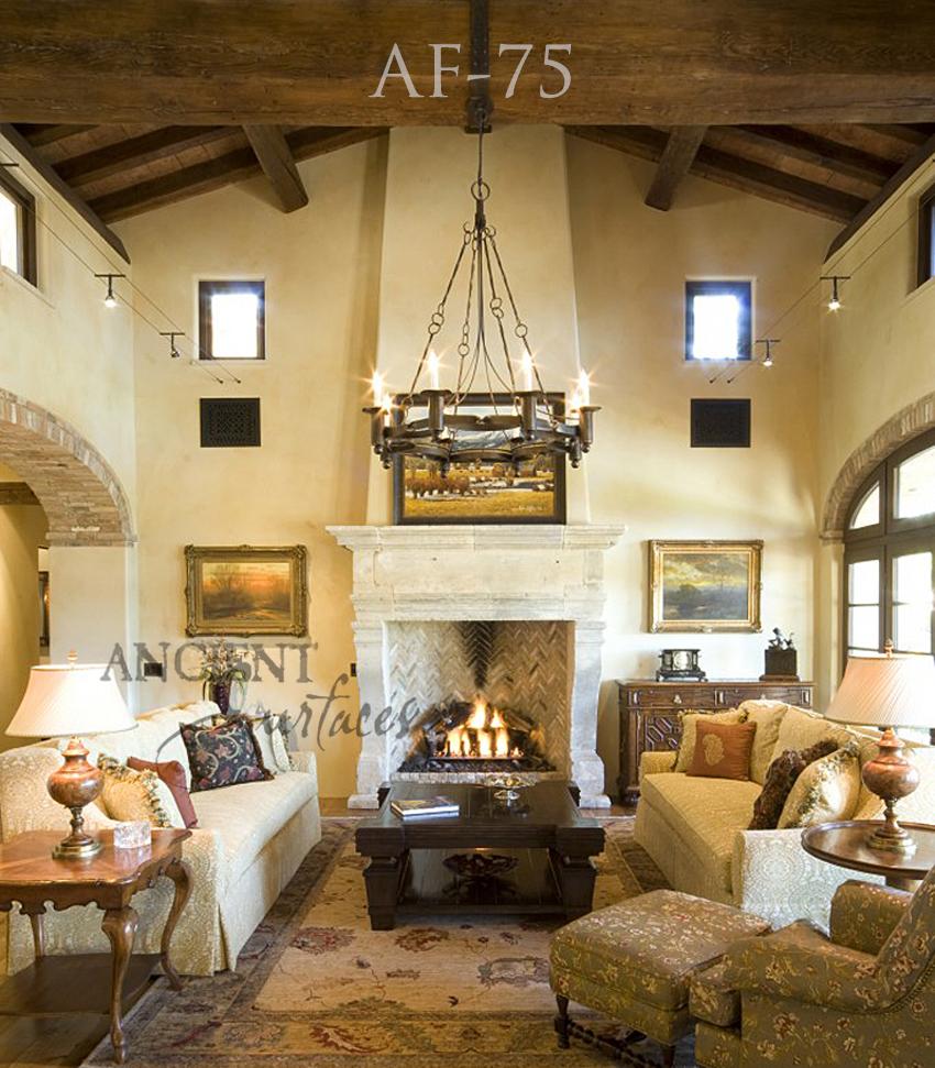 Flat Fireplace Wall