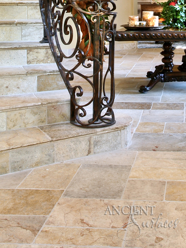 The Arcane French Limestone Pavers Are A Unique Collection