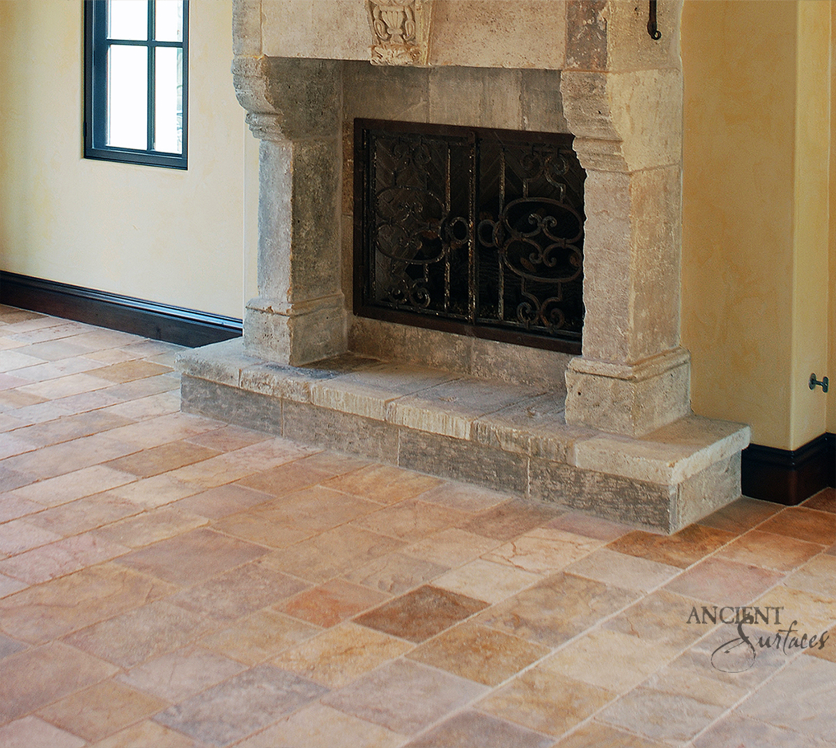Our Antique And Reclaimed Arcane French Limestone Pavers