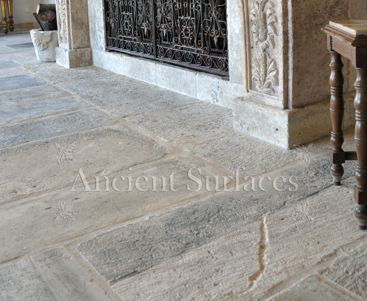 Come visit our vast collection of unique reclaimed limestone pavers.