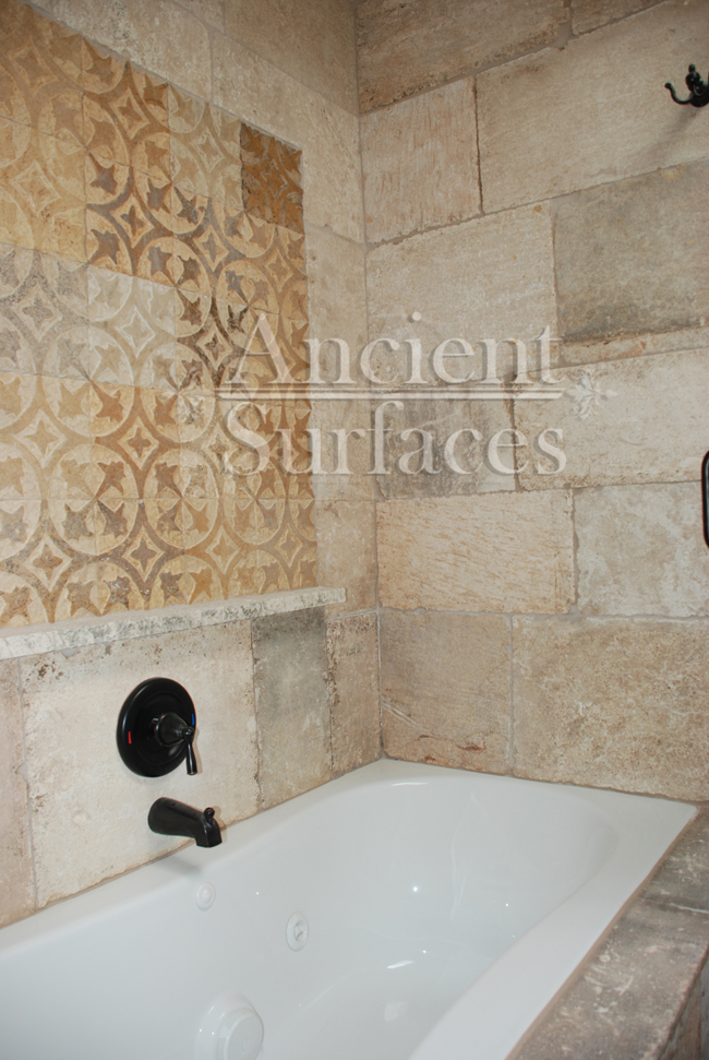 Antique Kronos Stone Flooring Pavers By Ancient Surfaces