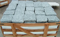 antique reclaimed basalt packaged in a box ready to ship