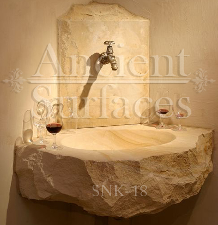 Unique Farmhouse Style Avant Garde Rough Cleft Sink Hand Carved Out Of A  Single Antique ...