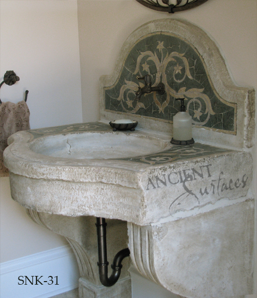 Reclaimed Stone Sink : Antique reclaimed stone basin sink salvaged restored and installed in ...