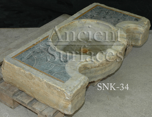 Reclaimed Stone Sink : ... of our Ancient Reclaimed Stone and Marble Sinks by Ancient Surfaces
